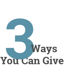 3 ways you can give